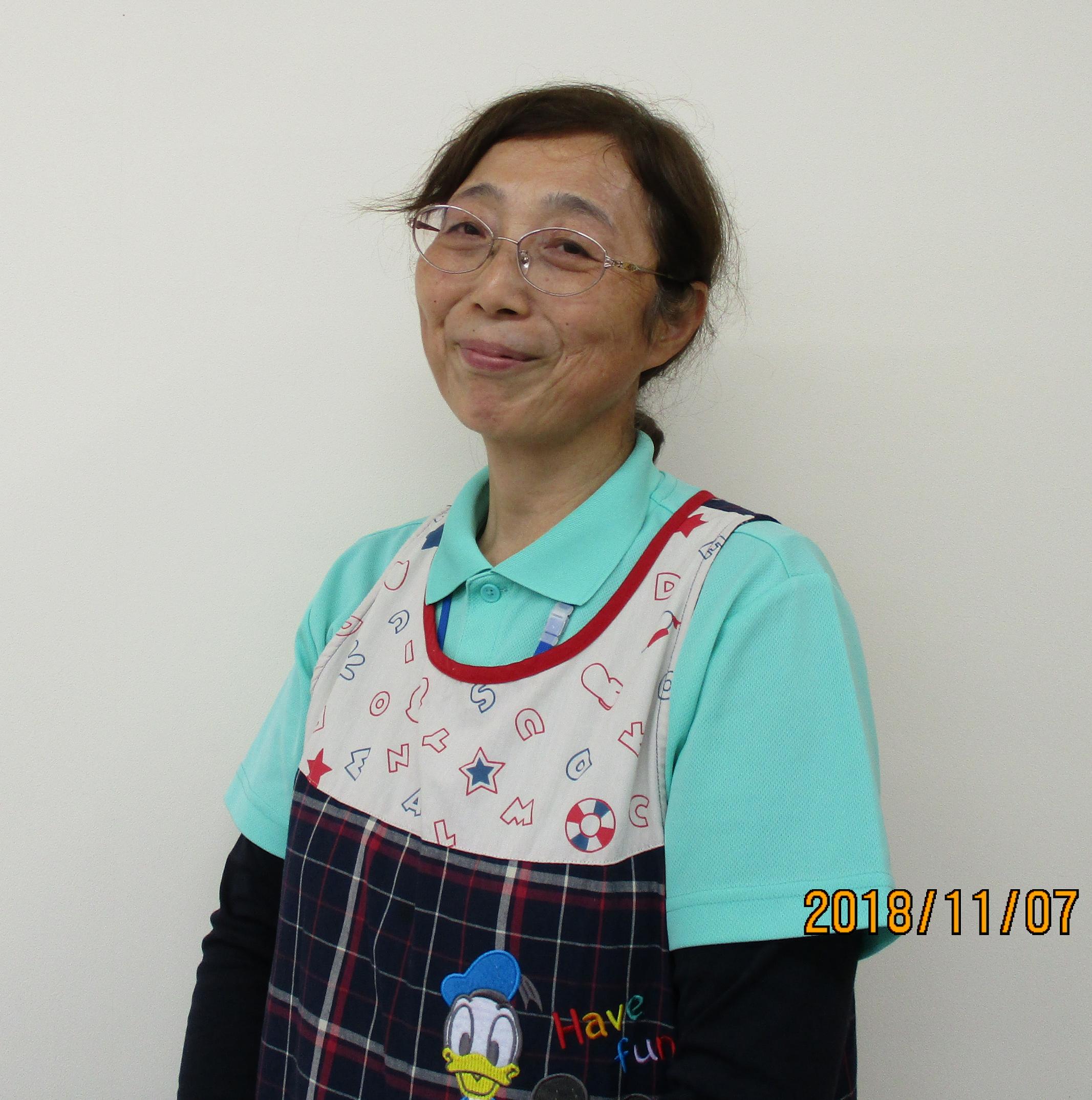児童発達支援:塚原嘉陽子(つかはら)先生(保育士)
